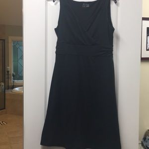 Eddie Bauer black cotton dress